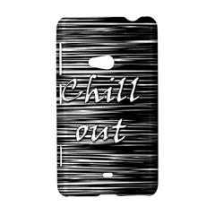 Black an white  Chill out  Nokia Lumia 625