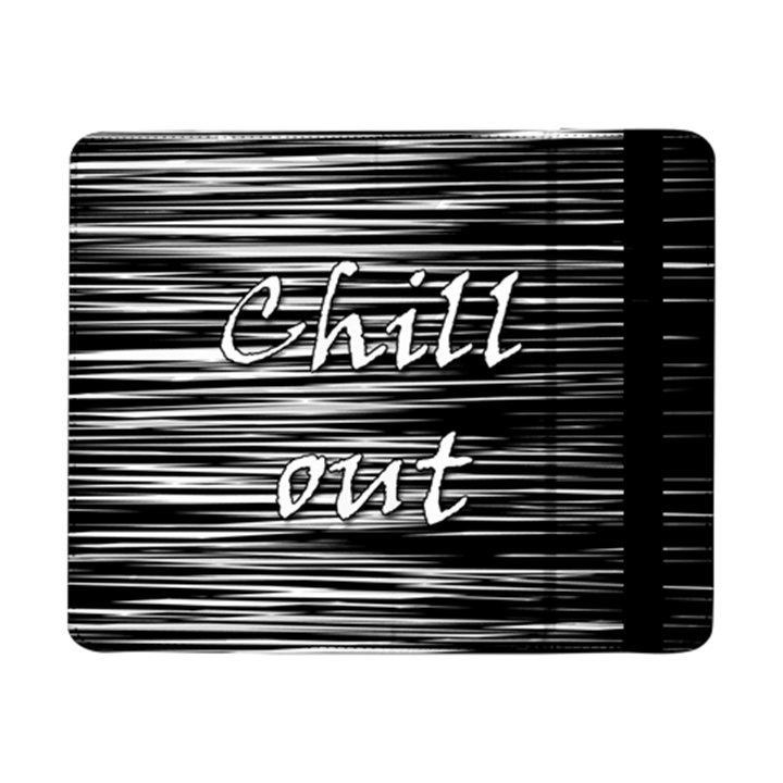 Black an white  Chill out  Samsung Galaxy Tab Pro 8.4  Flip Case