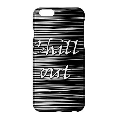 Black an white  Chill out  Apple iPhone 6 Plus/6S Plus Hardshell Case