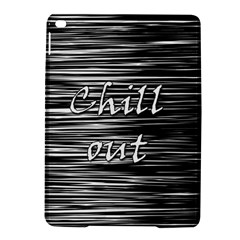 Black An White  chill Out  Ipad Air 2 Hardshell Cases