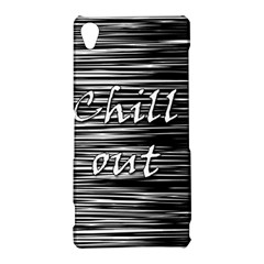 Black an white  Chill out  Sony Xperia Z3