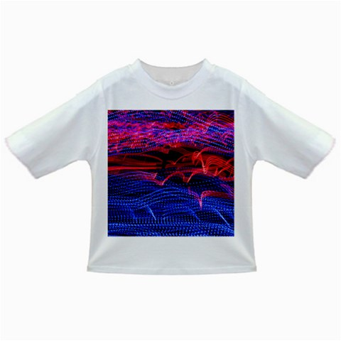 Lights Abstract Curves Long Exposure Infant/Toddler T-Shirts