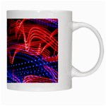 Lights Abstract Curves Long Exposure White Mugs Right