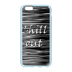 Black an white  Chill out  Apple Seamless iPhone 6/6S Case (Color)