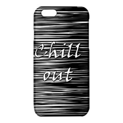 Black an white  Chill out  iPhone 6/6S TPU Case