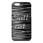 Black an white  Chill out  iPhone 6/6S TPU Case Front