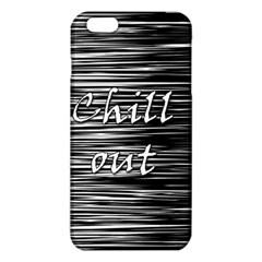 Black an white  Chill out  iPhone 6 Plus/6S Plus TPU Case