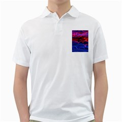 Lights Abstract Curves Long Exposure Golf Shirts