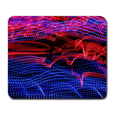 Lights Abstract Curves Long Exposure Large Mousepads