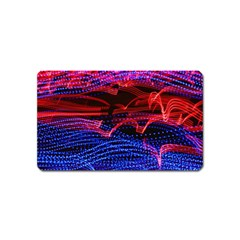Lights Abstract Curves Long Exposure Magnet (Name Card)