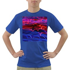 Lights Abstract Curves Long Exposure Dark T-Shirt