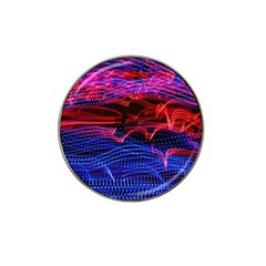 Lights Abstract Curves Long Exposure Hat Clip Ball Marker