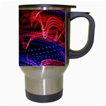 Lights Abstract Curves Long Exposure Travel Mugs (White) Right
