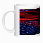 Lights Abstract Curves Long Exposure Night Luminous Mugs Left