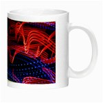 Lights Abstract Curves Long Exposure Night Luminous Mugs Right