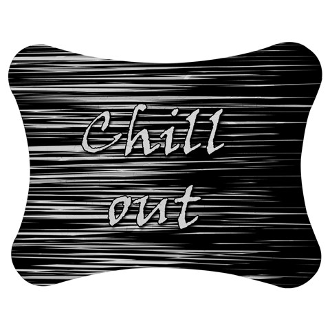Black an white  Chill out  Jigsaw Puzzle Photo Stand (Bow)