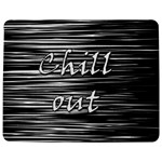 Black an white  Chill out  Jigsaw Puzzle Photo Stand (Rectangular) Front