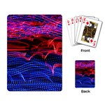 Lights Abstract Curves Long Exposure Playing Card Back