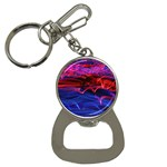 Lights Abstract Curves Long Exposure Bottle Opener Key Chains Front