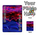 Lights Abstract Curves Long Exposure Playing Cards 54 Designs  Front - Joker1