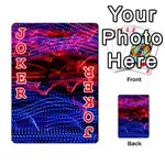 Lights Abstract Curves Long Exposure Playing Cards 54 Designs  Front - Joker2