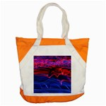 Lights Abstract Curves Long Exposure Accent Tote Bag Front