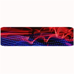 Lights Abstract Curves Long Exposure Large Bar Mats