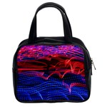 Lights Abstract Curves Long Exposure Classic Handbags (2 Sides) Front