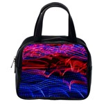 Lights Abstract Curves Long Exposure Classic Handbags (2 Sides) Back