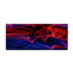Lights Abstract Curves Long Exposure Hand Towel Front