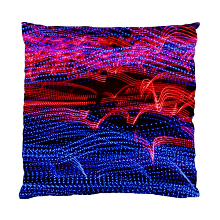 Lights Abstract Curves Long Exposure Standard Cushion Case (One Side)