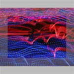 Lights Abstract Curves Long Exposure Mini Canvas 7  x 5  7  x 5  x 0.875  Stretched Canvas