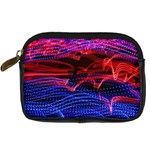 Lights Abstract Curves Long Exposure Digital Camera Cases Front