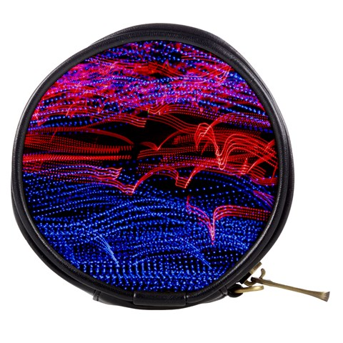 Lights Abstract Curves Long Exposure Mini Makeup Bags