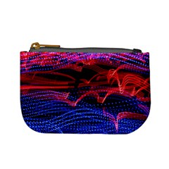 Lights Abstract Curves Long Exposure Mini Coin Purses