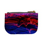 Lights Abstract Curves Long Exposure Mini Coin Purses Back
