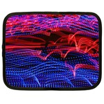 Lights Abstract Curves Long Exposure Netbook Case (XL)  Front