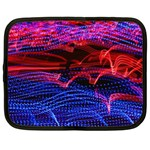 Lights Abstract Curves Long Exposure Netbook Case (XXL)  Front