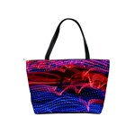 Lights Abstract Curves Long Exposure Shoulder Handbags Back