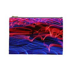 Lights Abstract Curves Long Exposure Cosmetic Bag (Large)