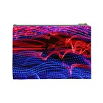 Lights Abstract Curves Long Exposure Cosmetic Bag (Large)  Back