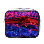 Lights Abstract Curves Long Exposure Mini Toiletries Bags Front