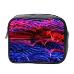 Lights Abstract Curves Long Exposure Mini Toiletries Bag 2-Side Front