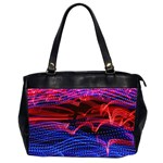 Lights Abstract Curves Long Exposure Office Handbags (2 Sides)  Front