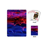 Lights Abstract Curves Long Exposure Playing Cards (Mini)  Back