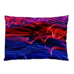 Lights Abstract Curves Long Exposure Pillow Case (Two Sides) Back