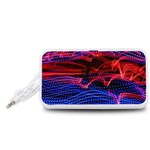 Lights Abstract Curves Long Exposure Portable Speaker (White)  Front