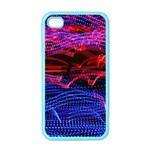 Lights Abstract Curves Long Exposure Apple iPhone 4 Case (Color) Front
