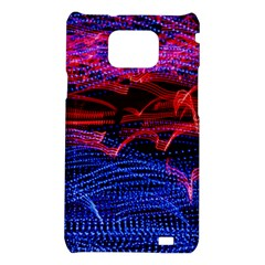 Lights Abstract Curves Long Exposure Samsung Galaxy S2 i9100 Hardshell Case
