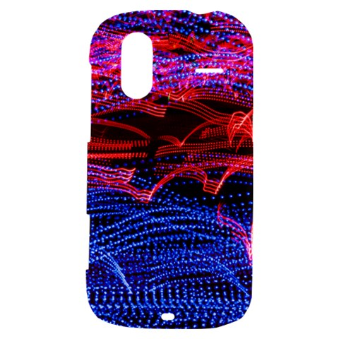 Lights Abstract Curves Long Exposure HTC Amaze 4G Hardshell Case